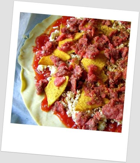 Taco Pizza Pre-heat