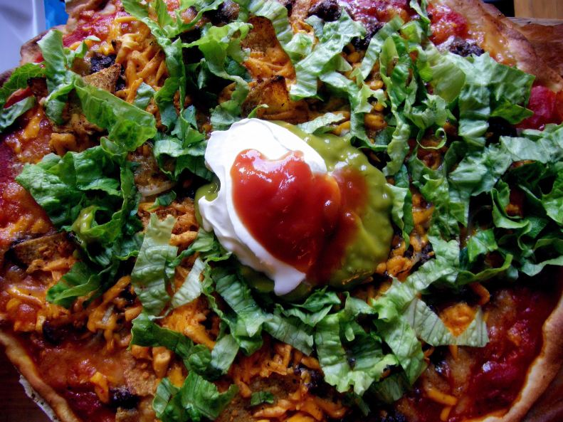 Taco Pizza Final Product