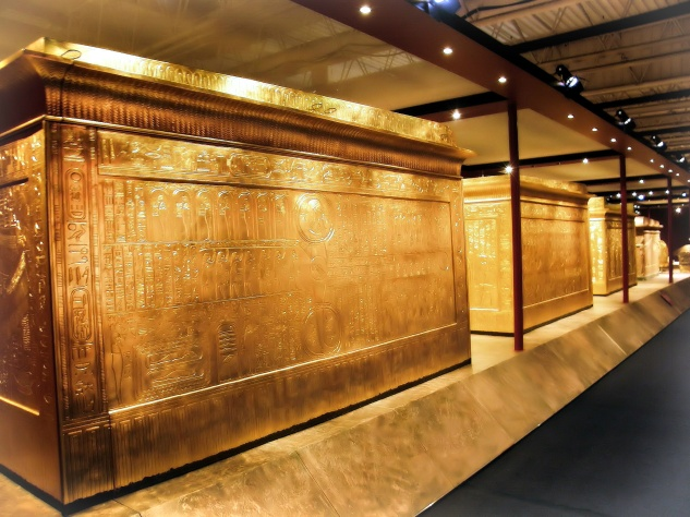 King Tutankhamen's Three Shrines