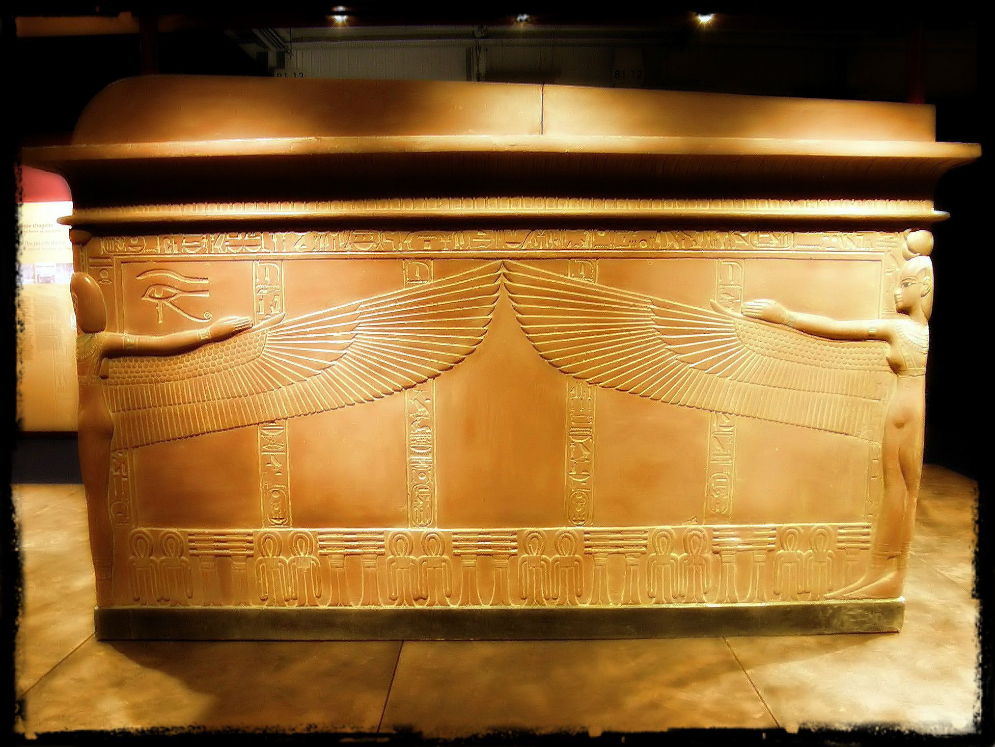 the sarcophagus Live every day like it's terrifying mystery sarcophagus opening day.