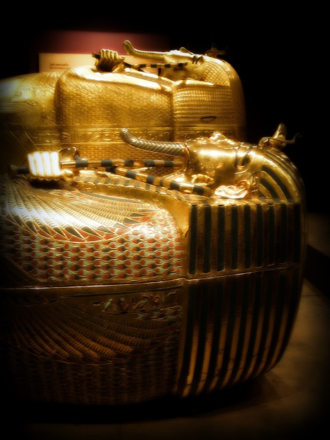 King Tutankhamen's Outer and Middle coffin