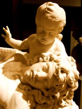 François ANGUIER - Monument funéraire de Jacques-Auguste de Thou / Funeral Monument for Jacques-Aguste de Thou (Louvre Museum, Paris, France)