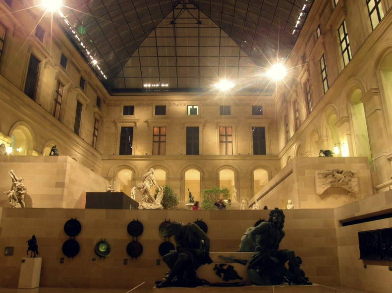 Louvre Museum - Cour Puget