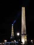 Eiffel Tower Obelisk Place Concorde Heaven Noël 04 Paris-Inspired