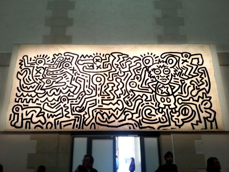 Used 06 Keith Haring - Unititled (1985) (Paris Paul Prescott Paris Inspired) 20130510_132052a