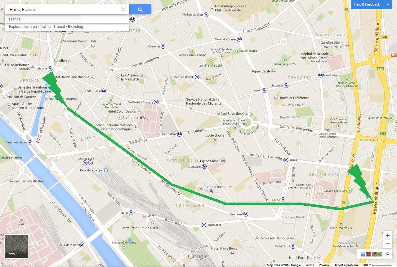 Paris Has Green Eyes A Prose Poem For The Promenade